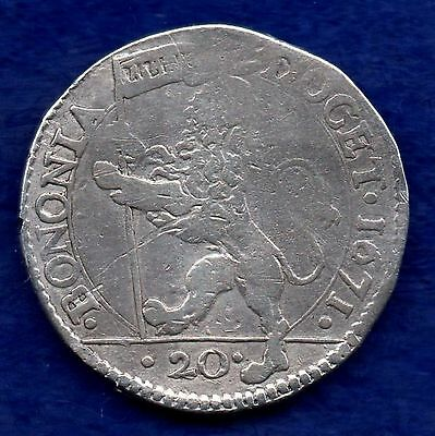 Italy, Papal States, Bologna, 1671 20 Bolognini (Ref. c4521)