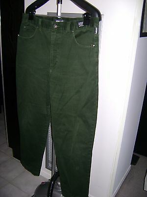 Authentic Versace Hunter Green Jeans - Size 40 / 54 P