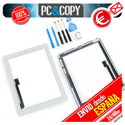 PANTALLA TACTIL PARA iPad 4 A1458 BLANCA DIGITALIZADOR TOUCH SCREEN iPad4 NEW