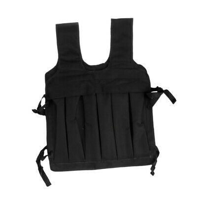 35kg Max Loading Weighted Vest Strength Training Running Gym Exercise Waistcoat