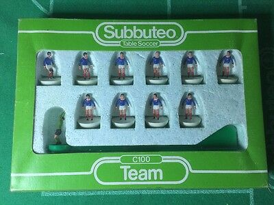 Subbuteo c100 LW Team - France - (Set 164) - Very Rare!!