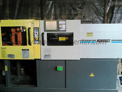 55 Ton, 1.68 Oz. Cincinnati Roboshot Electric Injection Molding Machine '97
