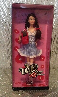 Miss Dorothy Gale The Wizard Of Oz Barbie Doll  2010 Mattel R4522 Mint Nrfb