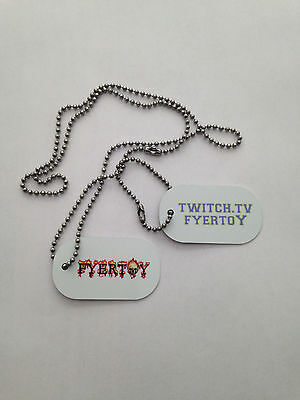 Twitch.tv/fyertoy  Military Dogtags