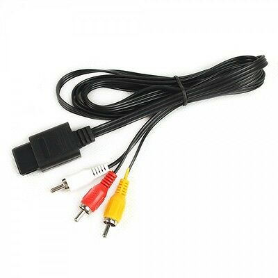 Cable Av Tv S-Video Composite Para Nintendo 64 Nuevo New