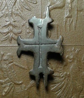Ancient Bronze Cross-encolpions. 9th to the mid-13th century.  # 28.
