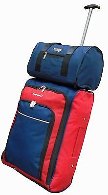 Ryanair Cabin Approved wheeled hand luggage bag + additional Personal Bag