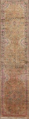 Excellent Antique Washed 3x14 Lilian Hamedan Persian Runner Rug Oriental Carpet