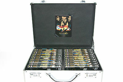 Briefcase Case 007 James Bond 20X Dvd Collection Rare Selten!!