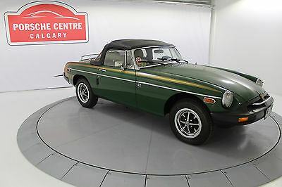 1981 MG MGB Base Convertible 2-Door 1981 MGB Convertible, 183km, Carefully Preserved and Stored Time Capsule, NEW