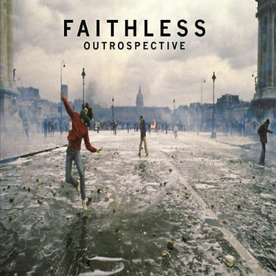 FAITHLESS ~ OUTROSPECTIVE ~ 2 x 180gsm AUDIOPHILE VINYL LP ~ *NEW AND SEALED*