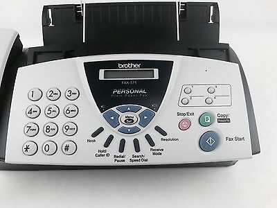 Brother Fax-575 Plain Paper Thermal Fax Phone & Copier in EXCELLENT CONDITION