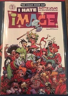 I Hate Image Skottie Young Image Comics Free Comic Book Day