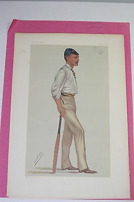 Original  Vanity Fair Print - Lord Harris