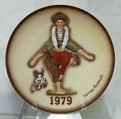 Leapfrog > Norman Rockwell 1979 > Limited Edition Annual Plate > 3D
