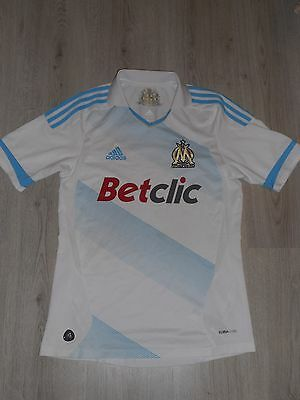 Olympique Marseille 2011 / 2012 Football Shirt Jersey Home Adidas Size S