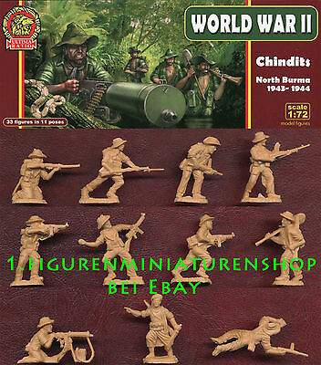 1:72 FIGUREN UR006 Chindits North Burma 1943-1944 - ULTIMA RATIO NEU