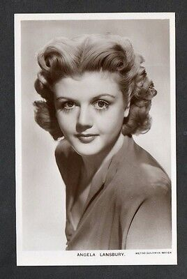 Angela Lansbury Picturegoer W Series Film Star Actress Postcard No. W 204