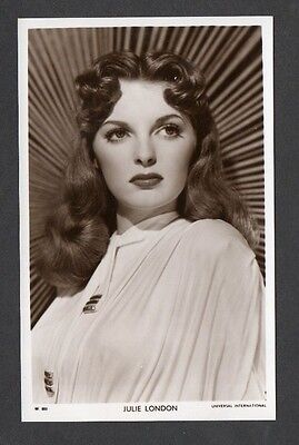 Julie London Picturegoer W Series Film Star Actress Postcard No. W 805