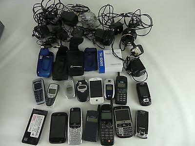 (ref240) Collection of mobile phones for spares repair etc..
