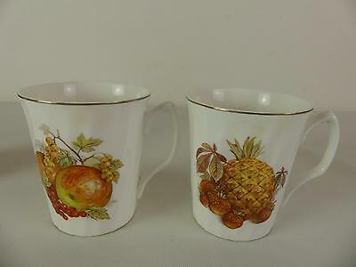 (ref219P) 2 Roy Kirkham Coffee Cups
