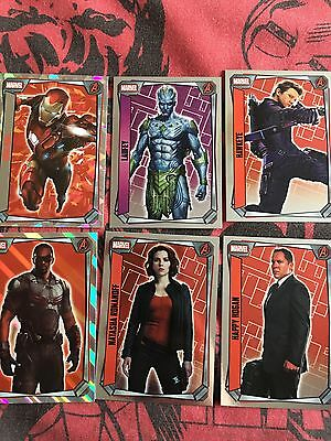 10 2017 Marvel Missions Cards Topps