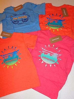 PATAGONIA Baby Graphic Cotton/Poly T-Shirt - 62173 - size 2T