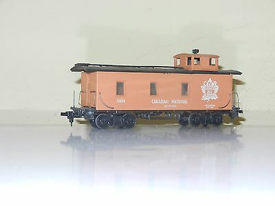 Roundhouse 34' End Caboose Canadian National Cn Rail Ho Scale
