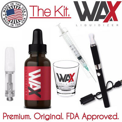 WAX LIQUIDIZER - STARTER KIT - Herbal Concentrate Rosin Herbal E Juice Vape Dab