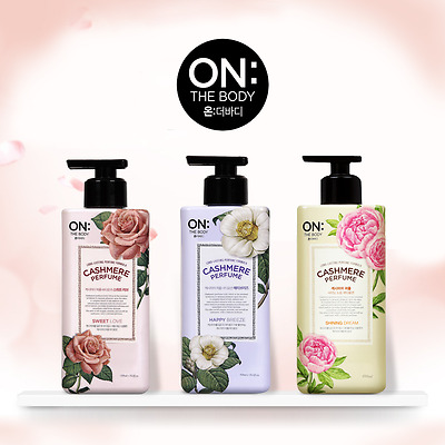 ON:the Body Cashmere Perfume Body Lotion 400ml 3 type LG H&H