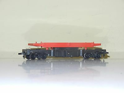 Tyco 40' Dumping Flat Car Undecorated Ho Scale