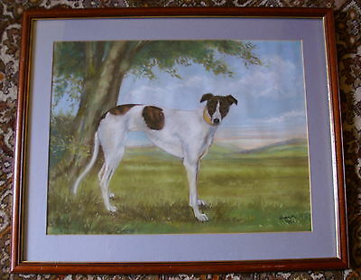 Gobbinstown Lass  Original  Painting  33 X 27 Inches Framed And Glazed