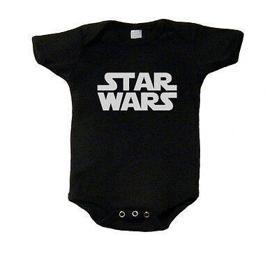 Star Wars Baby T-Shirt One Piece Romper Creeper Snap Tee