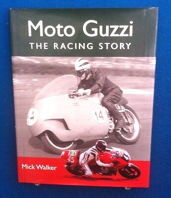 Moto Guzzi The Racing Story Motorbike Book By Mick Walker Very Good Condition