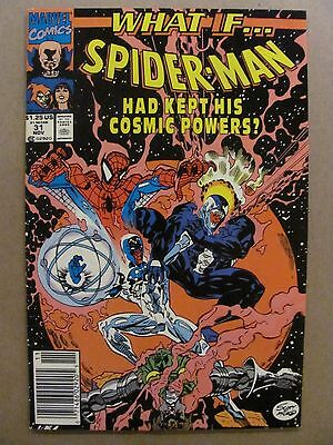 What if #31 Marvel 1989 Series Spider-Man Had Kept His Cosmic Powers Newsstand