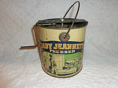 Rare Vintage Baby Jeannette Freezer Ice Cream Maker Toy, by Jeannette Toy Co.