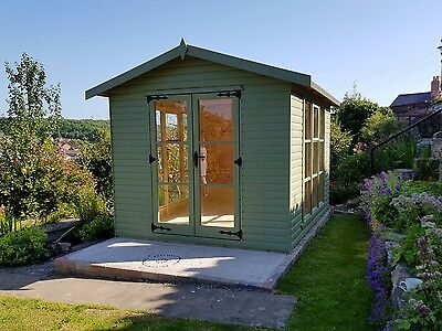Summerhouse   Garden Reading Room 10x8  DELIVERED AND ERECTED       Free