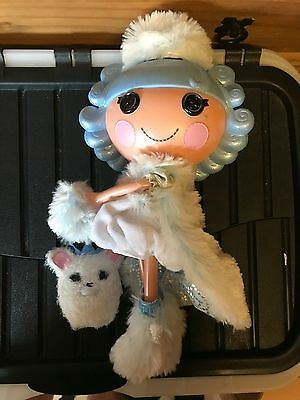 Lala Loopsy Limited Edition large Ivory Ice Crystals Doll & Pet