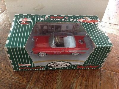 Gearbox Texaco Limited Edition 1957 Chevy Bel Air Sky Chief Red #6 New