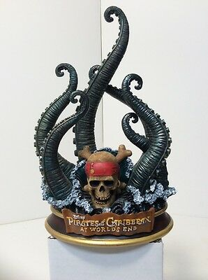 Pirates Of The Caribbean At World's End Davy JonesTentacles Statue Disney Store