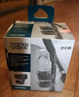 Mamas & Papas Buggy Cup Holder unused compatible with Tour, Trek & Kato