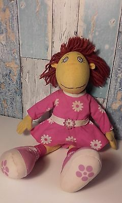 "Vintage Large Fizz Tweenies Doll Plush Soft Toy BBC 1998 Cbeebies 14"" Tall"