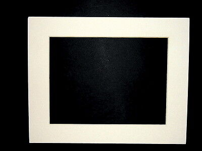 Pre Cut 8 x 10 in. Off White Pearl Picture Photo Framing Mat Board  20 Available