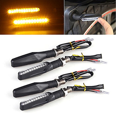 Universal Motorcycle Bike light 4pcs 12 LED Turn Signal Indicator Lights Blinker