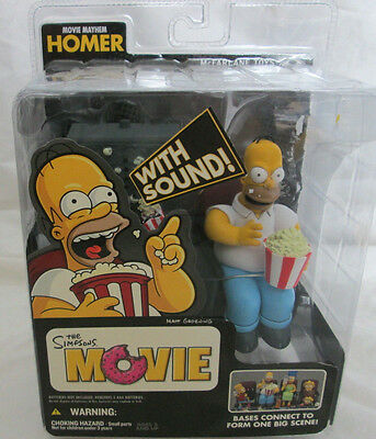 Homer Simpson With Sound, The Simpsons, Movie Mayhem Homer, Sealed
