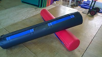 2 NEW x GLADIATOR Pugel Sticks 5ft x 10 inch Red/ Blue Quality Foam (1)