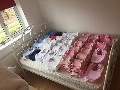 Joblot bundle baby clothes carboot sale blanks embroidery 788