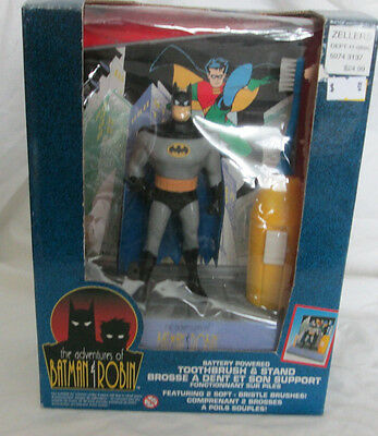 The Adventures Of Batman & Robin Battery Powered Toothbrush Sealed Box