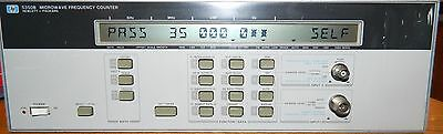 *****hp 5350B Microwave Frequency Counter Passes Self Test*****