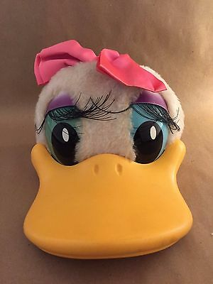 Vintage 80's Disney Daisy Duck Stuffed Animal Baseball Hat Cap Child Size - Used